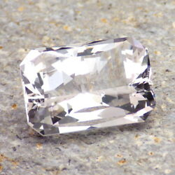 DANBURITE-MEXICO 17.70Ct CLARITY SI1-LARGE-VERY VERY LIGHT PINK-PERFECT FACETING $376.00
