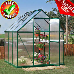 Greenhouse Kit 6x6x7' Portable Walk In Yard Gardening Plant Outdoor Heavy Duty