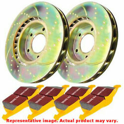 EBC Brake Kit - S5 Yellowstuff and GD Rotors S5KF1524 Fits:BMW  2009 - 2011 335