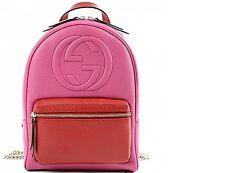 NEW GUCCI AUTHENTIC HANDBAGS SOHO BACKPACK BOOK LEATHER ROSETTE 431570 CAO2G