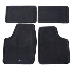 2006 2016 Chevy Impala Front amp; Rear Replacement Floor Mats Black by GM 25795457 $99.95