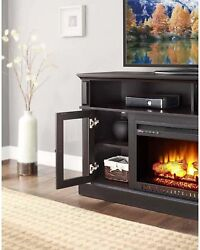 Whalen Barston Media Fireplace for TVs up to 70 Heats up to 400 sq. ft.