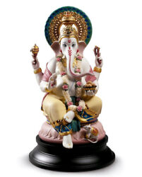 LLADRO Porcelain : LORD GANESHA 01002004  New Introduction 2017 Limited Edition