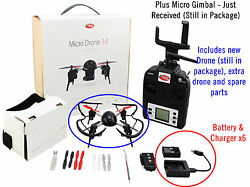 Extreme Fliers Micro Drone 3.0 Combo Pack with WiFi HD Camera Module and FPV $215.00