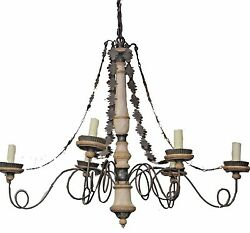 Monumental French Country Chandelier $1800.00