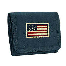 Men Tactical Outdoor Military Trifold Wallet ID Card Credit Holder Sapphire Blue $13.99