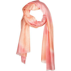Kinross Cashmere Tie Dye Print Scarf - Quince HatsGlovesScarve NEW