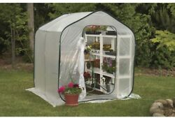 Pop Up Greenhouse Flower Plant House Portable Garden Nursery Fabric Clear Cover