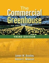COMMERCIAL GREENHOUSE By Newman Steven E - Hardcover **Mint Condition**