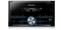 Pioneer 2-DIN Car Stereo Digital Media Receiver w Bluetooth USB AUX