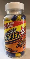 Stacker 100ct Extreme Fat Burner New Sealed Free Fast Shipping Stacker $13.99