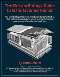 GRISSIM RATINGS GUIDE TO MANUFACTURED HOMES ESSENTIAL BUYERS Excellent Condition