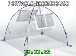 Greenhouse Kit Mini Small Pop Up Little Green House Dome Outdoor Portable Vented