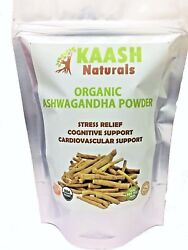 ASHWAGANDHA POWDER Indian Ginseng USDA Certified Organic 100% Raw Adaptogenic $11.29
