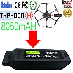 8050mAh 14.8v Lipo Battery for Yuneec Typhoon H Drone RC Hexacopter $132.99