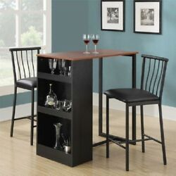 Counter Height Patio Bar Modern Dining Set Wood Swivel Chairs Furniture Kitchen