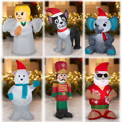 Inflatable Christmas Outdoor Decoration 4 Feet Airblown Gemmy Lawn Holiday Decor