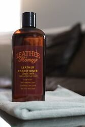 8 Oz Non Sticky Leather Care Conditioner For Furniture Shoes Bags Boots Cars