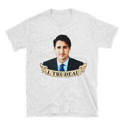 Justin Trudeau Shirt Prime Minister of Canada 100% Cotton Tshirt Trudeau Gift $16.00
