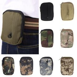 Outdoor Waterproof Camping Hiking Travel Military Waist Belt Pack Army Pouch Bag $3.99