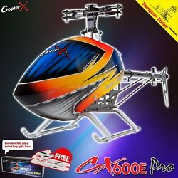 CopterX CX 600 E Pro Flybarless Torque Tube Remote Control Helicopter Kit $359.99