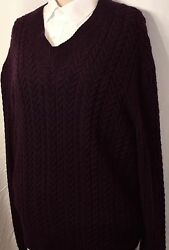$1660 NWOT NEW TOM FORD MEN'S LUXURY CASHMERE SWEATER 54 44 CHEST LARGE TO XL