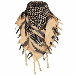 Tan Lightweight Tactical Military Shemagh Neck Scarf Shawl Wrap