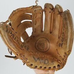 Spalding Leather Baseball Glove Fielders Choice 42 3955 For Right Handed Throw $8.69