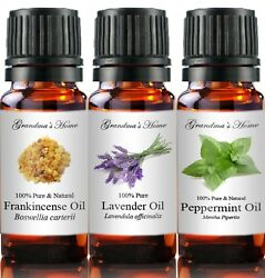 5 mL Essential Oils 100% Pure and Natural Therapeutic Grade Free Shipping $3.89