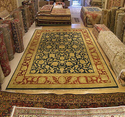 12 x 15 Hand Knotted Sultanabad Rug _Vegetable Dyes Hand Spun FINE WOOL