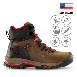 Maelstrom® Zion Men#x27;s 6#x27;#x27; Waterproof Work Boots for Construction Utility Safety $69.99