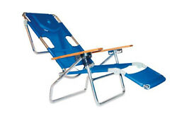 Chair Beach 3 1 Lounge N Padded Folding Outdoor Lounger Side Tray 3n1