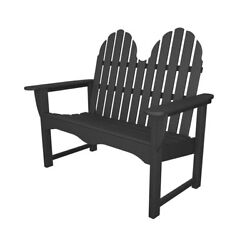 Recycled Plastic Adirondack 48 inches Outdoor Bench