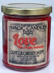 Love's Magic Spell Candle for Love amp; Attraction Attract or Heighten Love $22.00