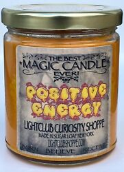 Wiccan Magic Spell Candle for Positive Energy Attract Only the Best $22.00