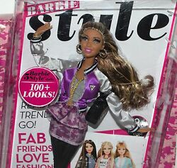 BARBIE STYLE COLLECTION BARBIE DOLL NEW IN BOX FASHION BOOK CLOTHES ACCESSORIES