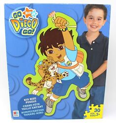 GO DIEGO GO Kid Size puzzle Nickelodeon adventure kids Nick Jr Unopened Sealed $19.99