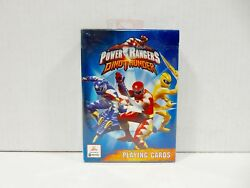 BICYCLE POWER RANGERS DINO THUNDER PLAYING CARDS *NEW AND SEALED* $2.63