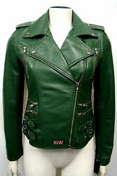Motorcycle Leather Jackets Online Attractive Soft Lambskin For Women  EHS W38