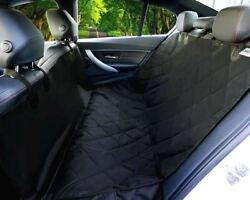 Waterproof Dog Car Back Seat Cover Hammock Protection Quilted for Pet SUV Bench $25.75
