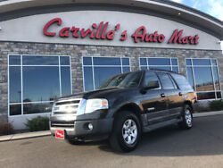 Expedition XLT 2007 Ford Expedition XLT 150709 Miles Carbon Metallic SUV 5.4L SOHC SEFI 24-Valv