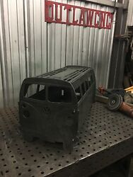 VW Bus Custom Fire Pit And Grill Volkswagen Bus. Made From 316 Plate Steel