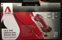Alemite Cordless Grease Gun 586 B 14.4 volt Lithium Ion with 2 batteries $227.00