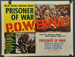 PRISONER OF WAR 1954 ORIG 22X28