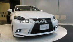 CARBON FIBER XE30 TRD STYLE FRONT LIP FOR 13- IS F-SPORT