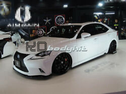 CARBON FIBER XE30 AIMGAIN STYLE FRONT LIP FOR 13-  IS F-SPORT