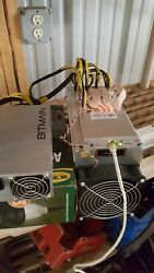 Bitmain Antminer L3+ LTC Litecoin Mining Free Shipping In Hand