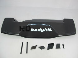 CARBON FIBER VOLTEX REAR DIFFUSER WITH FITTING KITS FOR EVO 9