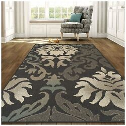 Superior Lowell Collection 5' x 8' Area Rug IndoorOutdoor Rug with Jute and