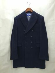JUNYA WATANABE MAN COMME des GARCONS Coat Size S Navy USED Japan Free Shipping